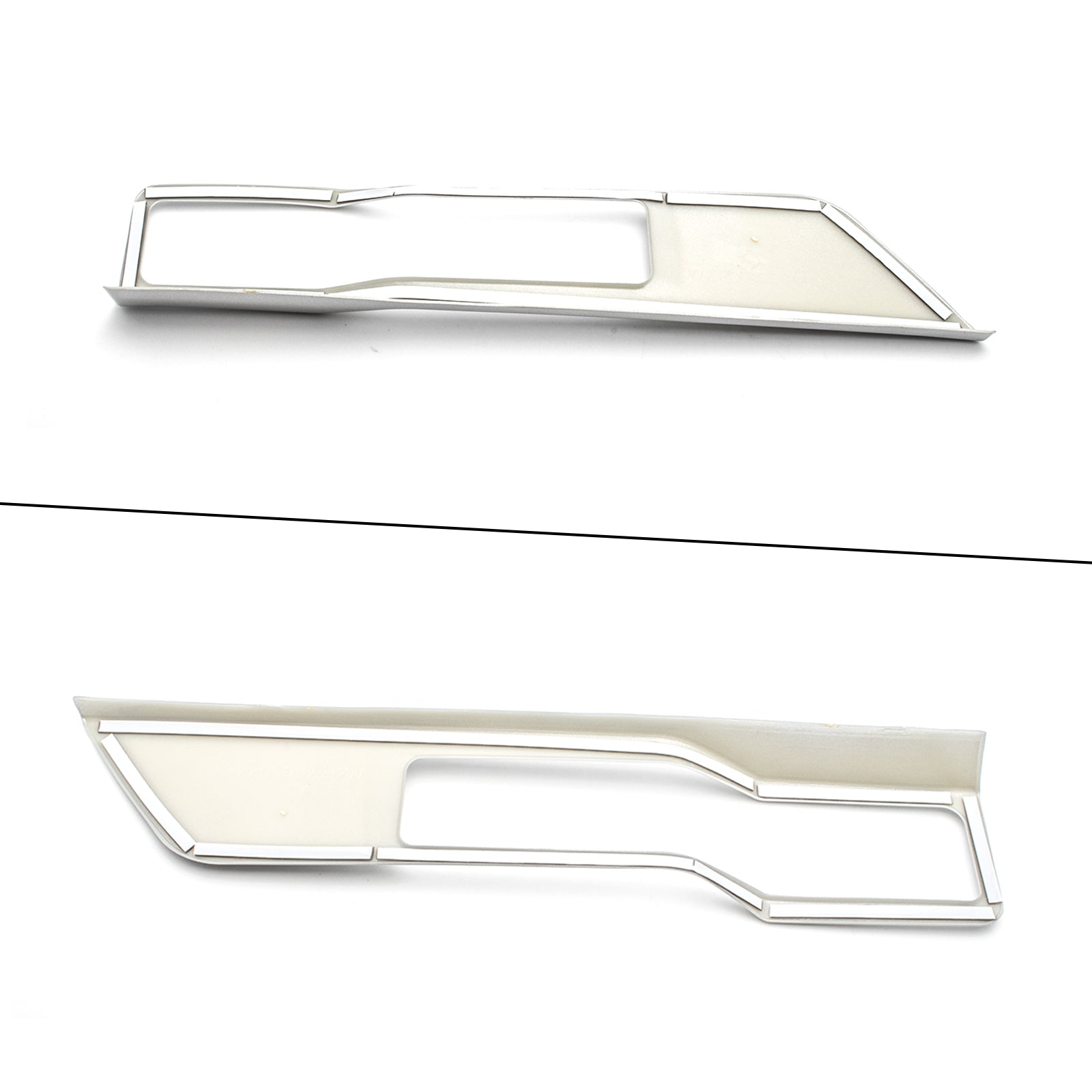 ABS Chrome Car Central Console Gear Panel Parking Hand