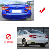 Chrome Stainless Steel Rear Trunk Lid Trim for Honda Accord Sedan 10th 2018 2019 2020