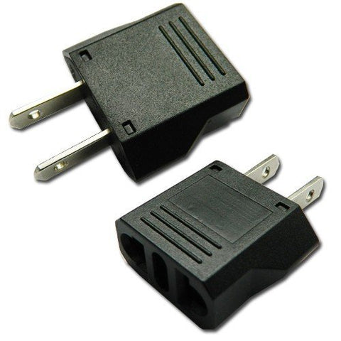 Universal Travel & Home use AC Power Plug Adapter for Euro to USA