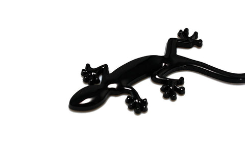 Black Lizard Gecko Badge Emblem For Audi Quattro A1 A4 A3 A5 TT S3 S5 RS3 RS4 Q3 Q5 R8