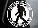 3pcs Official Bigfoot Response Sasquatch Finding Car Window Die-Cut Graphic Vinyl Decals for SUV Truck Car Bumper, Laptop, Wall, Mirror, Motorcycle