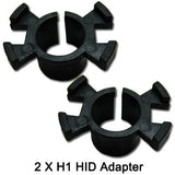 2x H1 HID Bulb Adapter Holder for Honda CR-V Odyssey Prelude and Acura RSX RL