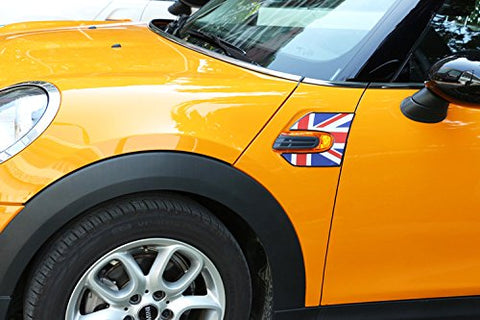 Fender Side scuttles stickers decal For 2014+ Mini Cooper S F56[UK Union]