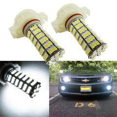 2x HID White 120-SMD 5202 LED Replacement Bulbs DRL Daytime Running Lights H16