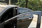 JDM Mugen Style Window Deflector Tinted Sun Visors for Honda Accord Sedan 2013-2017