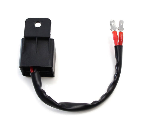 12V 2-Pin Electronic LED Flasher Relay Fix Motorcycle Turning Signal Lights Hyper Flashing