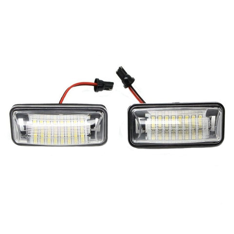 Direct Replace White LED License Plate Light Lamps For Scion FRS Subaru BRZ, etc