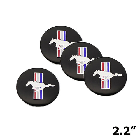 56.5mm Wheel Center Cap Covers Emblem For Mustang