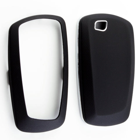 Keyless Smart Key Fob Shell Cover Case for BMW 1 3 4 5 6 series X3 M5 M6 GT3 GT5 Matte White/Black