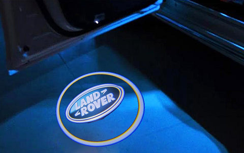 Land Rover Laser LED Car Door Welcome Logo Ghost Shadow Projector Lights Courtesy Lights Reflect Logo on the Floor