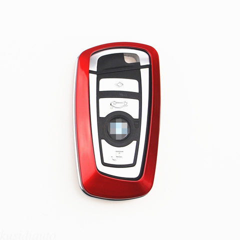 Keyless Smart Key Fob Shell Cover Case for BMW 1 3 4 5 6 series X3 M5 M6 GT3 GT5 [Gloss Black / Red / White]