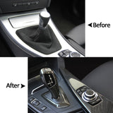 F30 Style Car Gear Shift LHD Automatic LED Gear Shift Knob Retrofit Accessories Kit Fit for BMW E90 E91 E92 E93 E81 E84 E87 E89