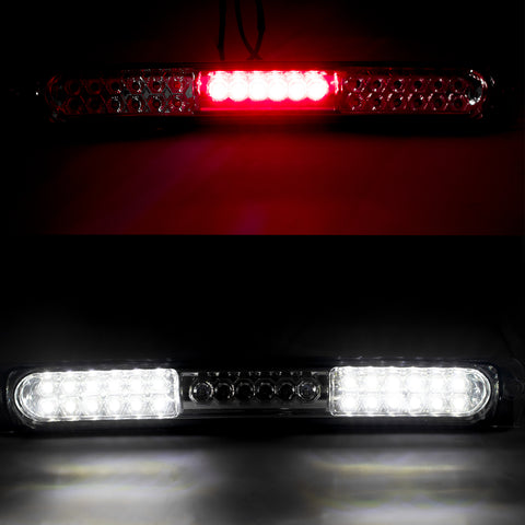 Clear Lens / Smoked Lens Full LED 3rd Brake Light Assembly, High Mount Tail Cargo Lamp for Ford F-150 1997-2003