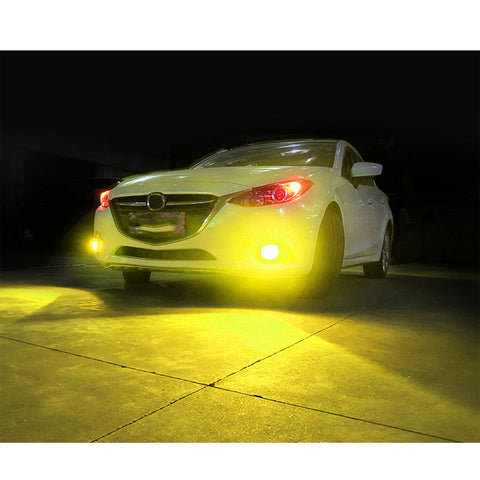 9005 9006 HB3 HB4 / H8 H9 H11 / 880 881 889 COB LED Bulb White Golden Yellow Dual Color Fog Light Conversion Kit