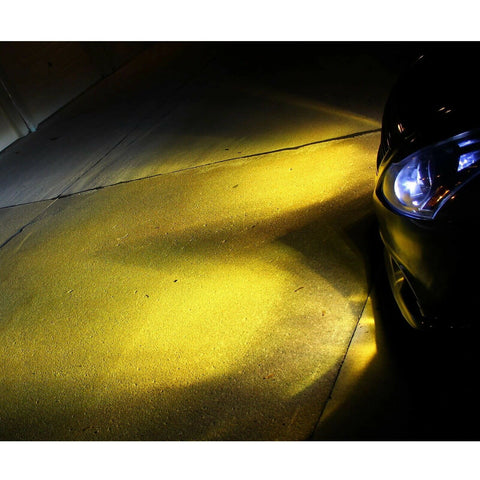 H11 H8 H9 Gold Yellow Projector LED Fog Driving Light Bulb for Honda Civic 2006-2019