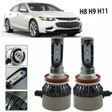6000K White H11 H9 H8 Light LED Headlight Kit LED Lamp 3800LM Fog Bulb For Chevrolet Ford Honda Mazda