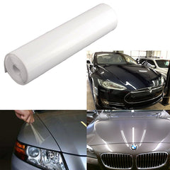 "12"" x 49"" Clear Headlight Bumper Hood Paint Protection Scratch Guard Film Vinyl Sheet Roll"