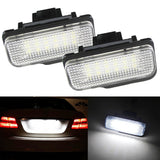 2x Error Free Canbus LED License Plate Lights Mercedes W211 W219