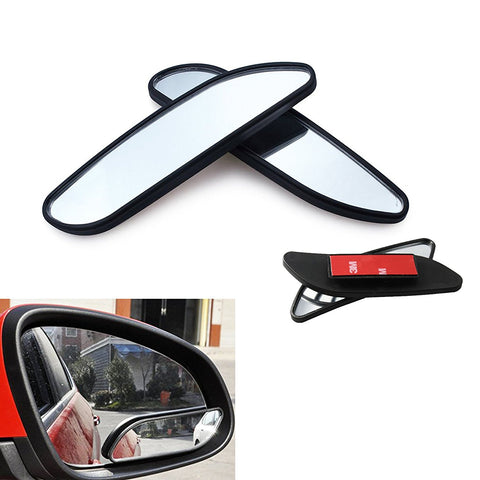 "Blind Spot Mirror, 2 Pcs 5"" Adjustable Stick On Auxiliary Rear-view Blind Spot Wide Angle Auto Mirrors For Car Truck SUVs Motorcycle"