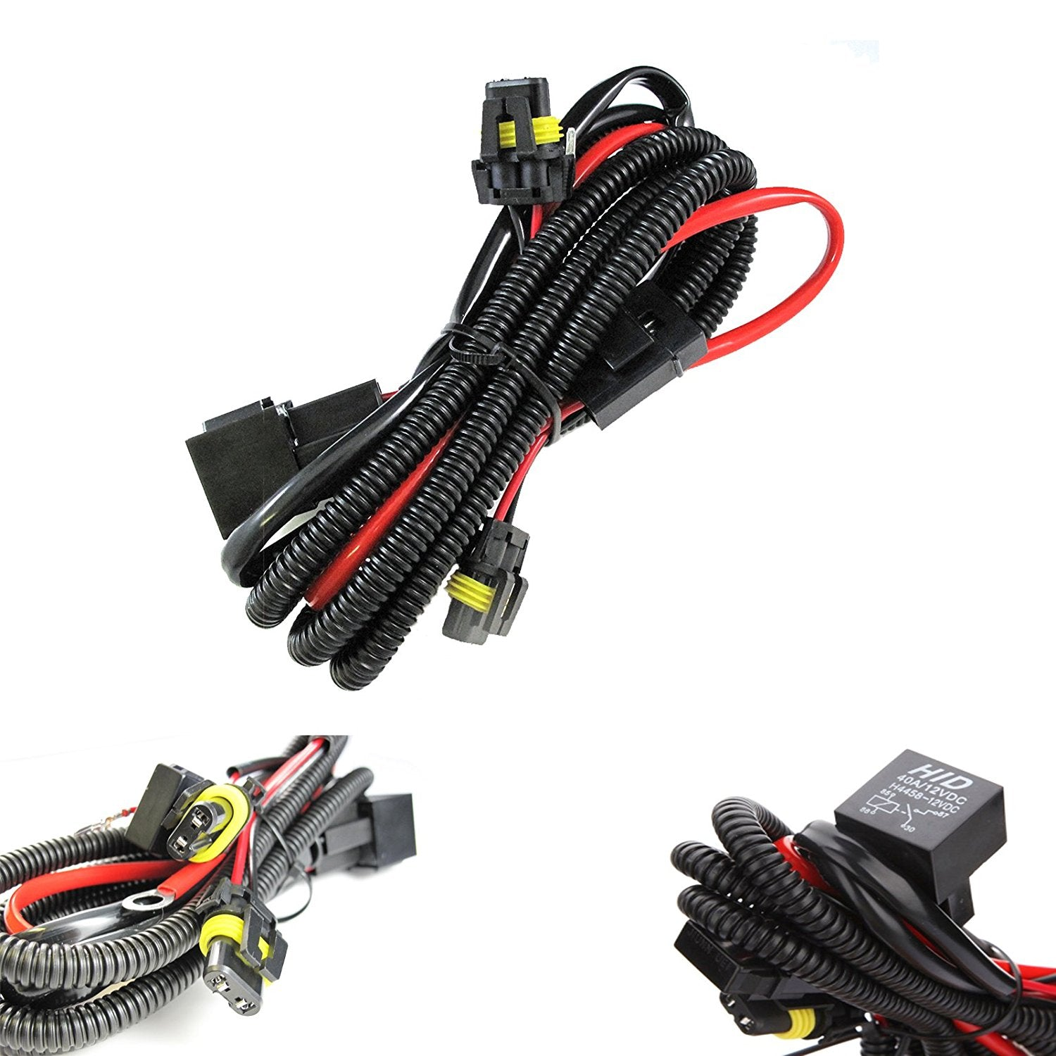 9005 9006 Relay Wiring Harness For Hid Conversion Kit Add On Fog Diagram Light