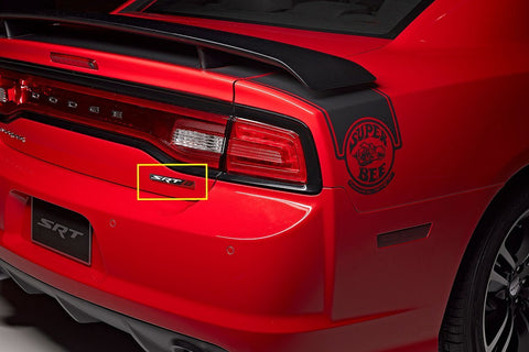 HEMI SRT 8 Emblem Badge Sticker For Dodge Charger RAM Viper Chrysler Jeep Trunk Lid Front Grill