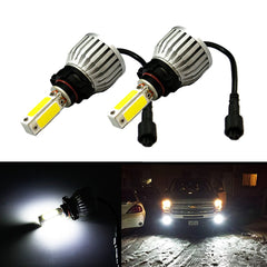 2x Super Bright 6500K White 48W 5202 PSX24W LED Conversion For Fog Headlights (Newest Model)
