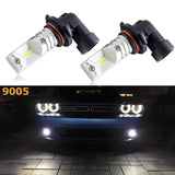 2x 9005 HB3 9145 H10 Luxeon LED Bright White LED Bulbs For DRL Daytime Running Light, Fog Light