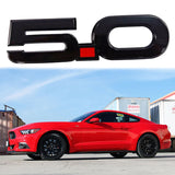 Side Badge Sticker 3D Logo 5.0 Liter Chrome Finish Fender Emblem For Newer Ford Mustang Cars 2015 2016