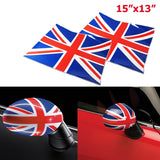 Vinyl Stickers For Mini Cooper Side Mirrors Cover (Left & Right)