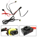 H11 880 Relay Wiring Harness Conversion Kit For Fog Light LED Bulb