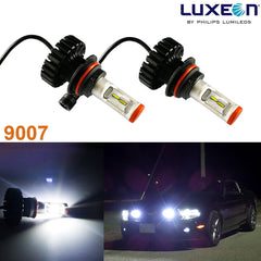 2x White 6000K Luxen LED 160W 12000LM 9007 9004 Hi/Lo Beam Headlight Bulbs (Newest Model)