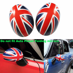 Side Mirror Covers Caps For Non-Auto Power Folding mirrors MINI Cooper R55 R56 R57 R60 R61 Driver/Passenger Side