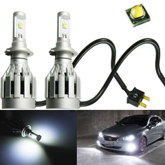 White CREE 60W H7 LED Conversion Kit Low Beam Headlight HID Bulbs 6000LM set