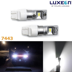 2x Super Bright Xenon White High Power Luxeon 100W 7440 7443 LED DRL Trun Signal Brake Tail Backup Reverse Lights