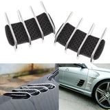 1 Set Car Custom Hood Side Flow Vent Fender Intake Grille Air Net Door Cover Decal Auto Stickers