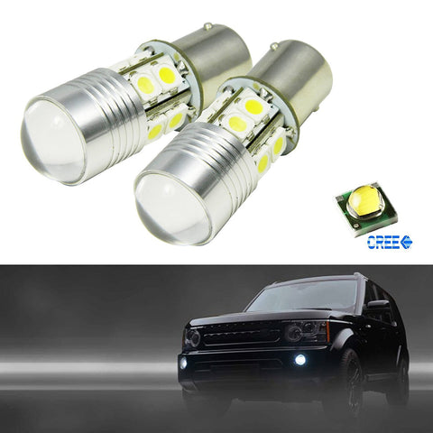 2x Xenon White 30W CREE 1157 2357 7528 LED Projector Bulbs For Daytime Running Light