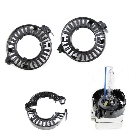 D1S D3S HID Bulbs Holders Clip Rings Retainers Audi BMW Mercedes Cadillac Lincoln Jaguar, etc