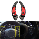1 set Pure Real Carbon Fiber Steering Wheel Paddle DSG Shifter for Scion FRS Toyota GT86 Subaru Forester 2013 and up