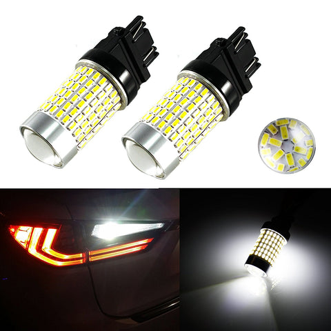 144-SMD 7506 1156 P21W LED Bulbs For Turn Signal, Backup Reverse Lights