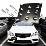 1 Set Front Tow Hook License Plate Bumper Mounting Bracket Fit Mercedes-Benz C E S M GLA GLK CLA ML SL AMG Class