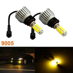 2x Super Bright 3000K 9005 H10 Error Free Yellow CREE LED Headlight Beam Fog Light (Newest Model)