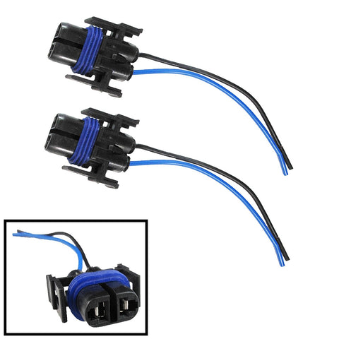 2x H8 H11 880 890 Female Adapter Wiring Harness Sockets Wire For Headlights Fog Lights