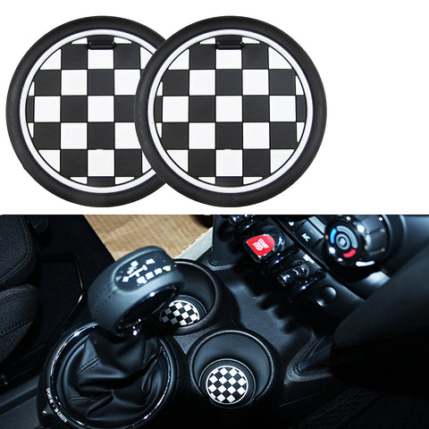 78mm for MINI Cooper Front Cup Holders Coasters R60 Countryman R61 Paceman F55 F56 3rd Gen