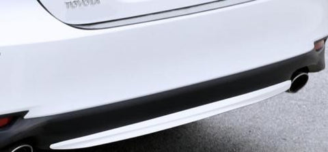 Bumper Guard - Stainless Chrome Rear Bumper Lower Lip Molding Trim Protector for Toyota Camry 2018+ L LE XLE