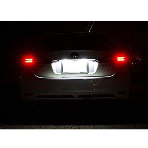 HID White OEM Replace LED License Plate Lamps For Lexus IS300 GS300 GS400 GS430 ES300 ES330 RX330 RX350 Toyota Prius, etc