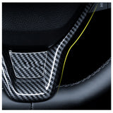 Carbon Fiber Pattern ABS Cover Trim Fit Honda Accord 2018