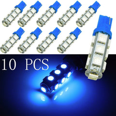 10x Blue T10 T15 168 901 904 921 2825 13-SMD Car Vehicle Parking Light LED Bulbs