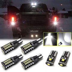 LED High Mount Light + Backup Reverse Light + License Plate Light Combo Kit for RAM 1500 2500 3500 2007-2018