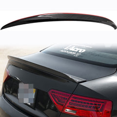 Carbon Fiber Trunk Lid Duckbill Cat Style Tail Spoiler Wing for Audi A5 B8 2008-2016