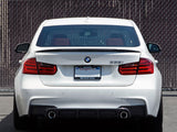 Trunk Lid Spoiler Wing Carbon Fiber Deck For BMW F30 F80 M3 Sedan Boot M Performance